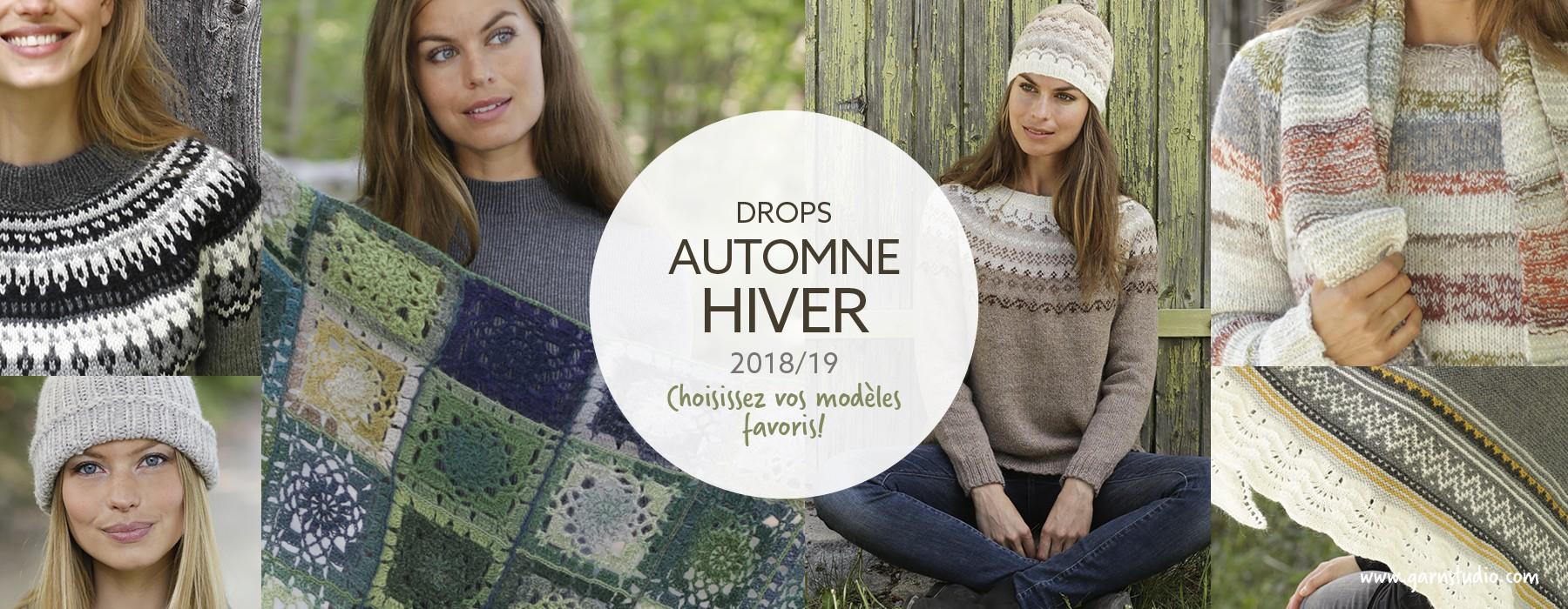 modèles automne/hiver 2018