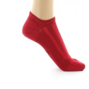 Socquettes BAGF Soie rouge 38/41