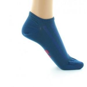 Socquettes BAGF Soie bleu minuit 38/41