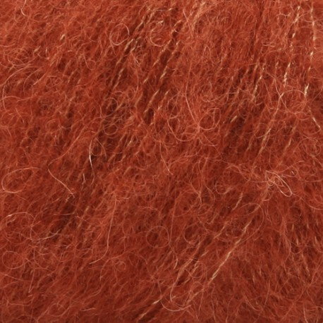 Drops Brushed Alpaca Silk 24 rouille