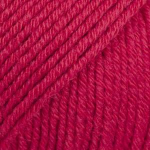 Drops Cotton Merino 06 rouge cerise