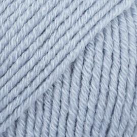 Drops Cotton Merino 09 bleu glacier