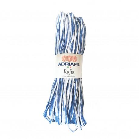 Adriafil Rafia  20 bleu ciel nuancé