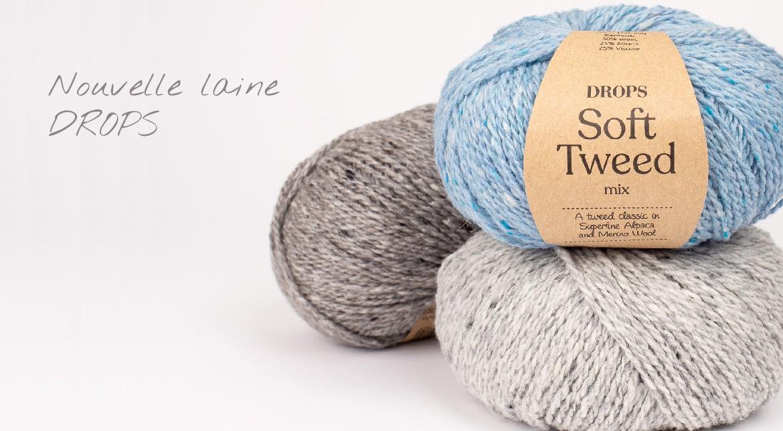 Nouvelle laine DROPS Soft Tweed